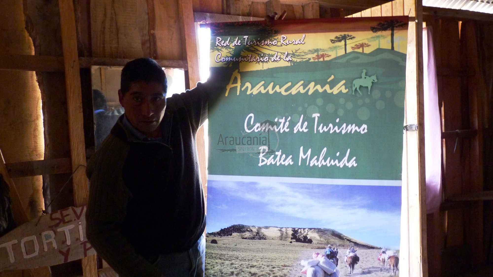 Sendero Batea Mahuida – Lonquimay