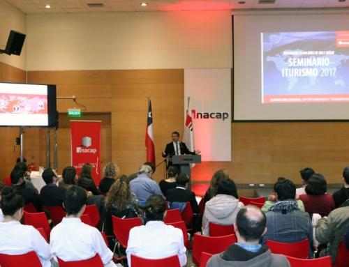 En Temuco se desarrolló seminario iTurismo 2017 que abordó las nuevas tecnologías para la industria