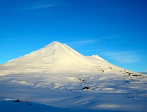 Logran concretar pavimentación de ruta acceso al Volcán Llaima