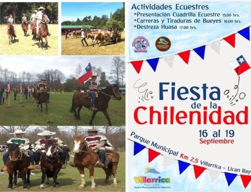 16 al 19 de Septiembre: #Villarrica y su fiesta de la chilenidad