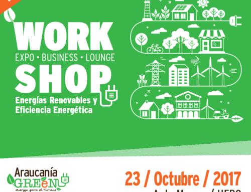 23 de octubre #Temuco: Workshop de Energía y Eficiencia energética aplicada al Turismo