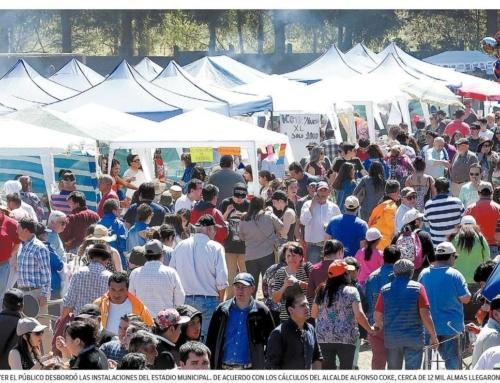 12 mil personas repletaron Estadio de #Cunco en la Fiesta del Digüeñe