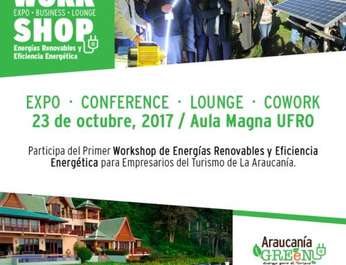 En la UFRO se desarrollará Primer Workshop de Energías para Empresarios Turísticos La Araucanía