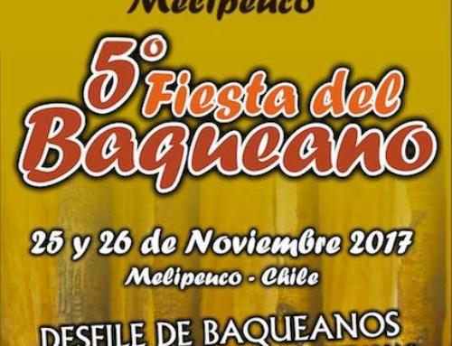 25 y 26 de noviembre: 5ta versión Fiesta del Baqueano en #Melipeuco