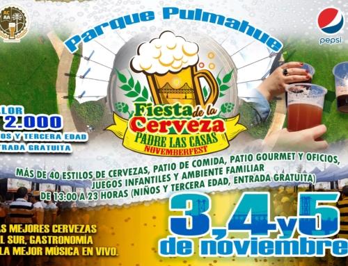 03, 04 y 05 de noviembre: Fiesta de la Cerveza de #PadreLasCasas