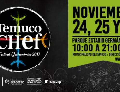 24 al 26 de noviembre: Festival Gastronómico Temuco Chef 2017