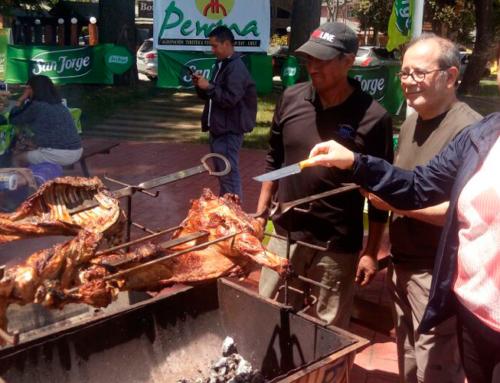 06 de enero de 2018: 2da versión del asado al palo de cordero más grande del mundo en Licán Ray #Villarrica