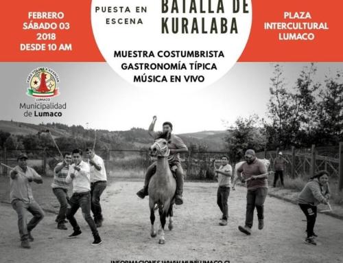 03 febrero: Puesta en Escena Batalla de Curalaba en #Lumaco