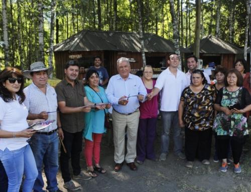 Inauguran Feria Costumbrista de agricultores en Carileufu #Pucón