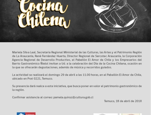 Celebrarán el Día de la Cocina Chilena este domingo en el Pabellón El Amor de Chile en #Temuco