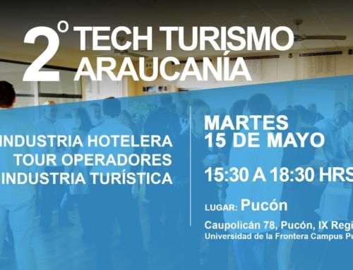 15 de mayo: Tech Turismo versión 2 en #Pucón