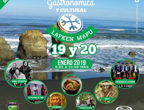 Este 19 y 20 de enero se realizará en Carahue la Feria Gastronómica y Cultural Lafken Mapu
