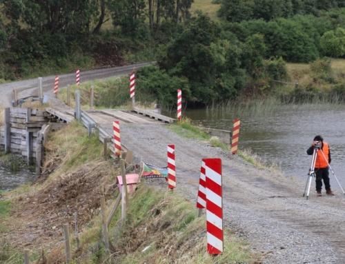 MOP comienza reposición de Puente Huapi en Puerto Saavedra