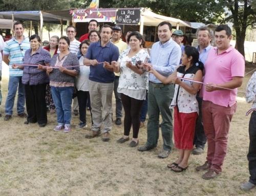 Feria Costumbrista de Llafenco abrió sus puertas al público en #Pucón