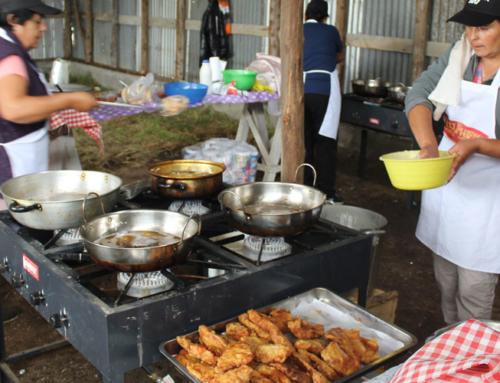 Con gran fritanga en Caleta La Barra esperan ofrecer más de 3 mil platos de pescado frito #Toltén
