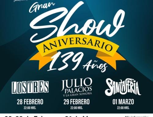 28 de febrero al 01 de marzo: Show Aniversario 139 años #Victoria 2020