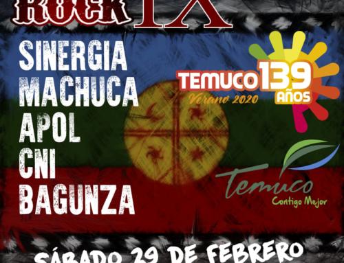 29 de febrero: IX Merken Rock #Temuco 2020