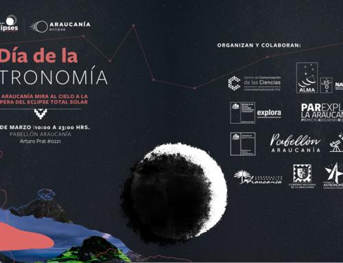 20 de marzo: Día de la Astronomía en Pabellón Araucanía #Temuco