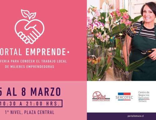 05 al 08 de marzo: Feria de emprendedores «Portal Emprende» en Mall Portal #Temuco