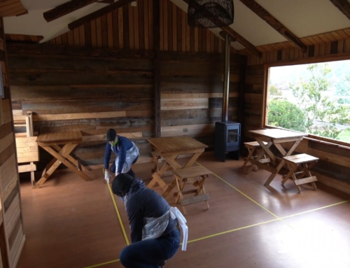 Emprendedores turísticos de Nahuelbuta y Costa Araucanía comienzan a instalar medidas de protocolo sanitario