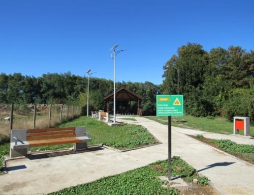 Finaliza la construcción del nuevo circuito de miradores en Río Cruces en Loncoche