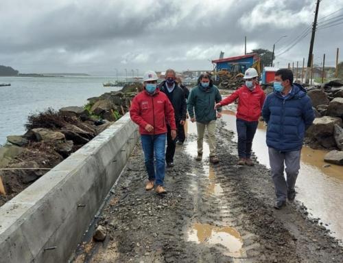 Avanza a paso firme el mejoramiento del borde costero de Puerto Saavedra