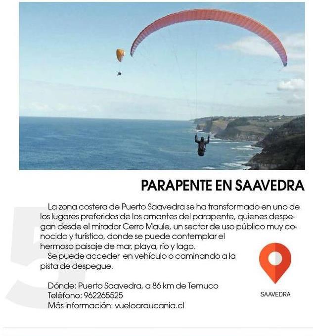 Atractivos turísticos de la Costa #Araucanía