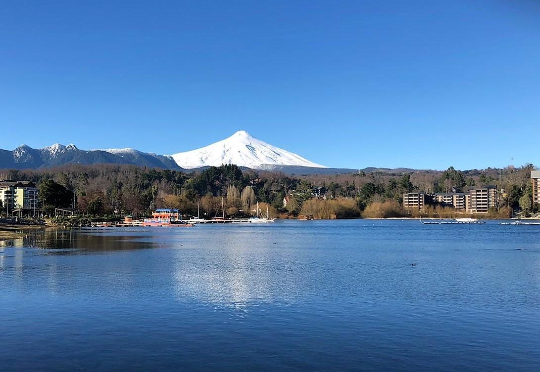 Chilenos eligen la zona lacustre para vacacionar en tiempo de pandemia