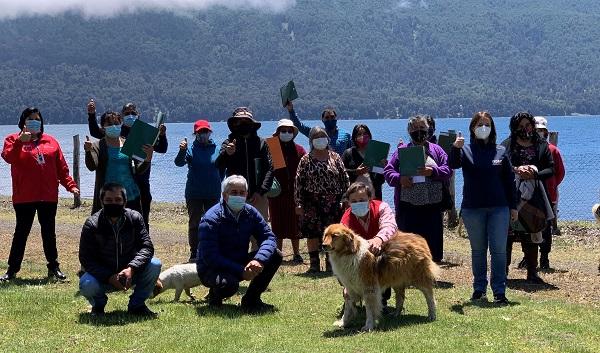 Emprendedores de turismo rural de Lonquimay recibieron sus autorizaciones sanitarias