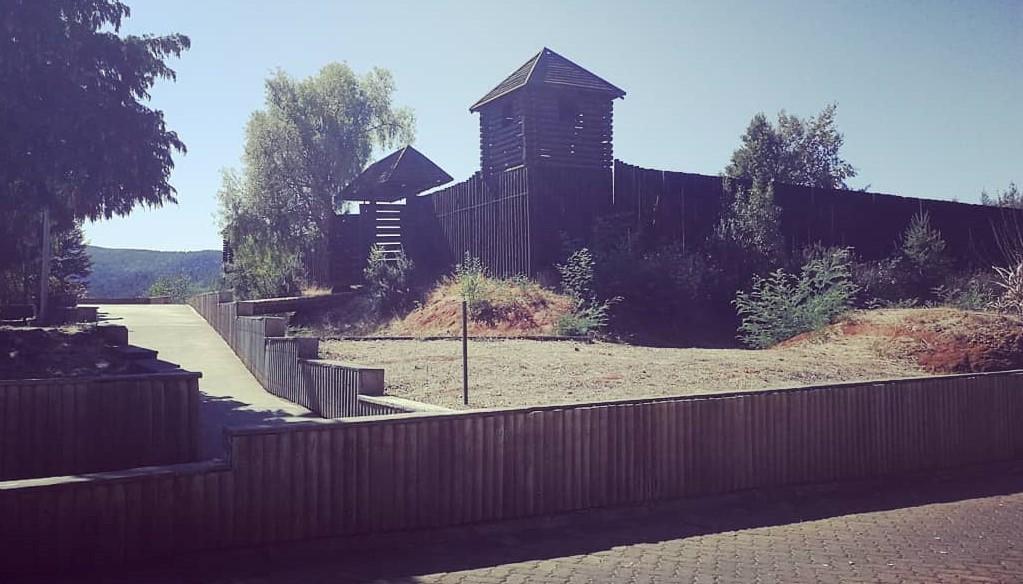 Mejoramiento a acceso del parque histórico de Purén ya está listo