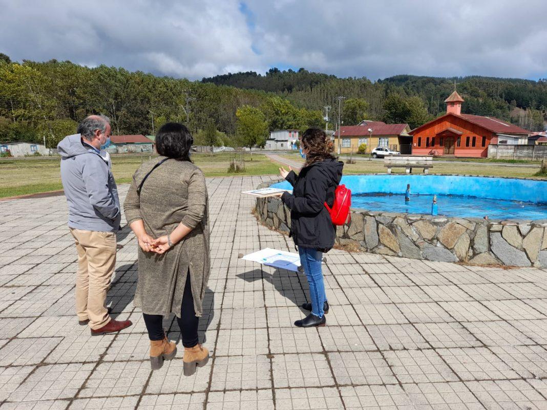 Se inicia construcción de mirador turístico en Queule