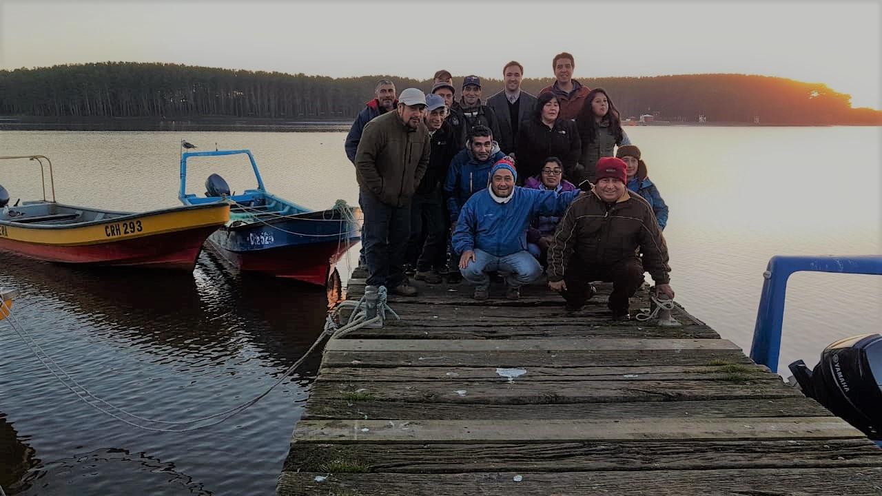 Pescadores de Puerto Saavedra podrán postular a capacitaciones